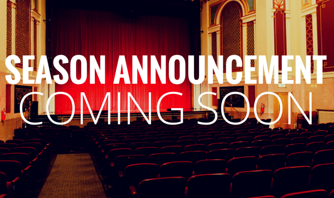 Season announcement web banner